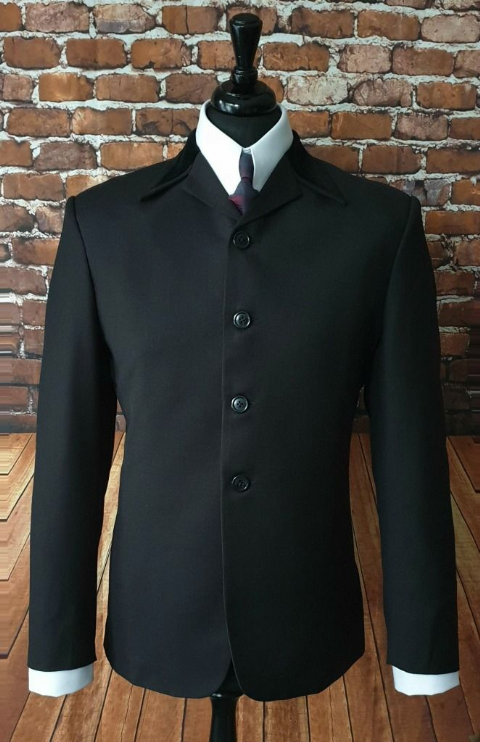 """Harrison"" Black Beatle Hard Days Night Suit"
